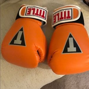 TITLE BOXING GLOVES 🥊